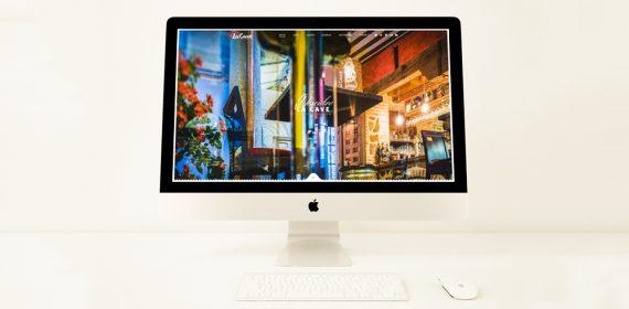 web Restaurante La Cave