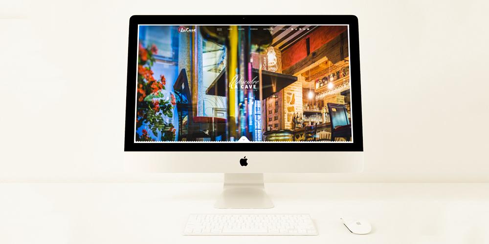 Sitio web Restaurante La Cave