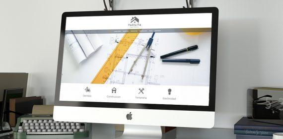 web Construcciones Vasilita