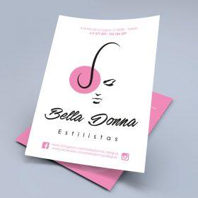 flyer bella donna
